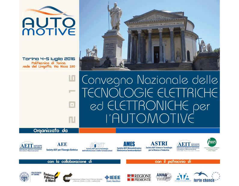 Automotive 2016, focus su tecnologie elettriche ed elettroniche