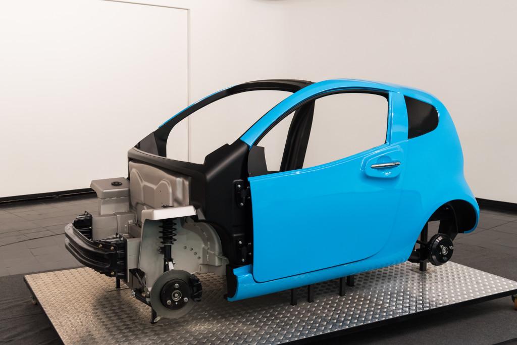Evolution: 24 partner europei realizzano un veicolo elettrico di soli 600 kg