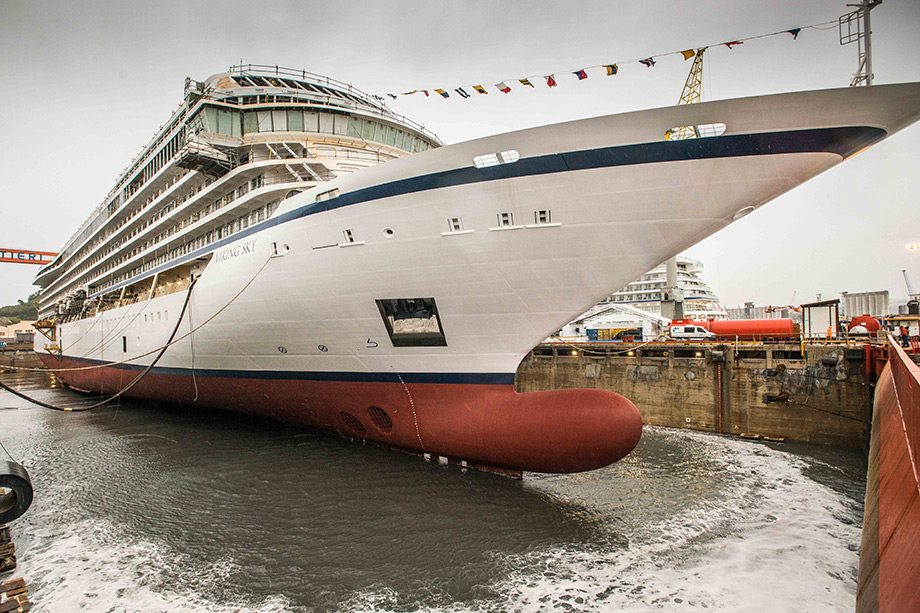 Ancona: Fincantieri consegna Viking Sky