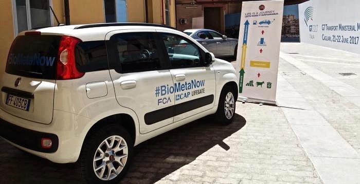 #Biometanow: il progetto Fca – Cap per la mobilità sostenibile al G7 Trasporti