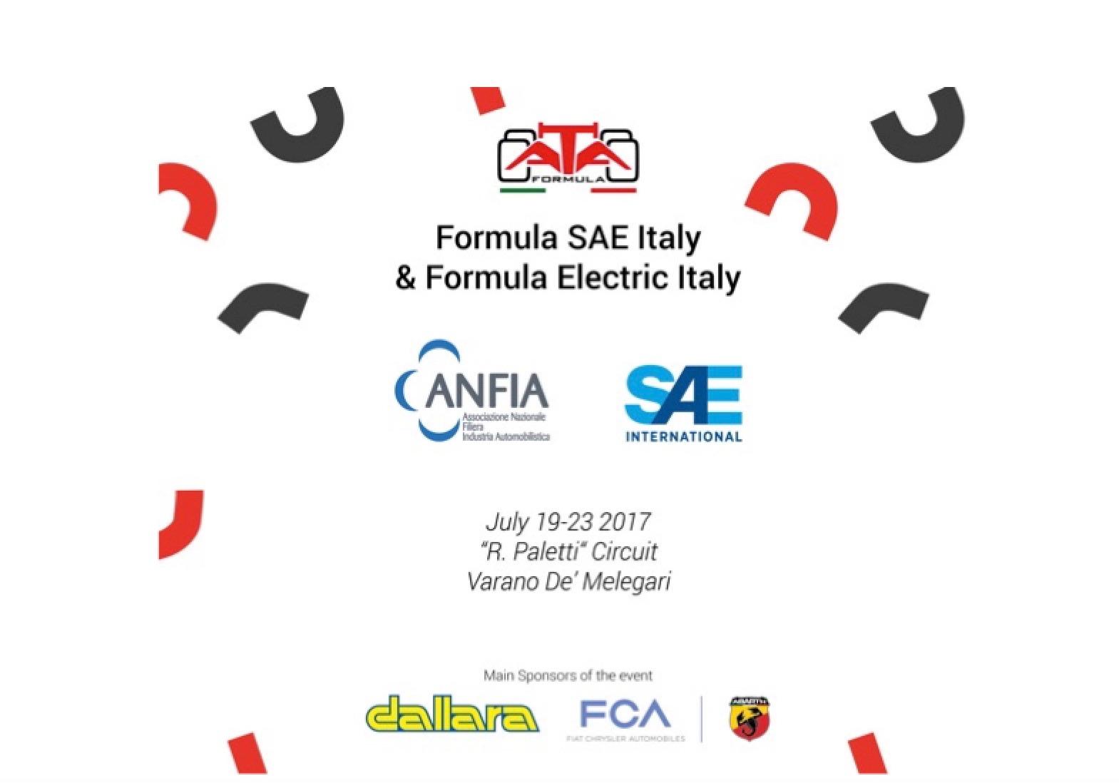 Formula SAE Italy & Formula Electric Italy 2017: studenti in pista per progettare prototipi da corsa