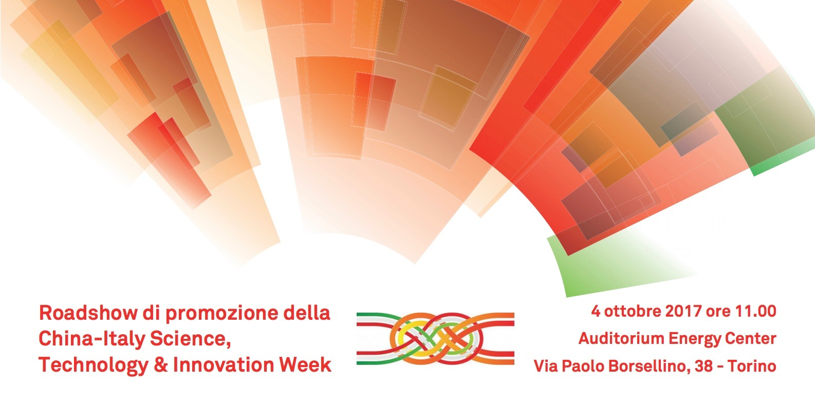 China-Italy Science, Technology & Innovation Week: il 4 ottobre a Torino il roadshow illustrativo