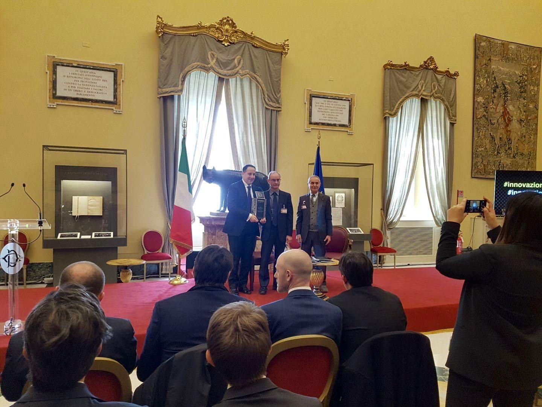 """Innovazione tecnologica, progetto Shelter: Centro Ricerche Fiat e Abalog ricevono il """"Premio dei Premi"""" isitituito dal Governo"""