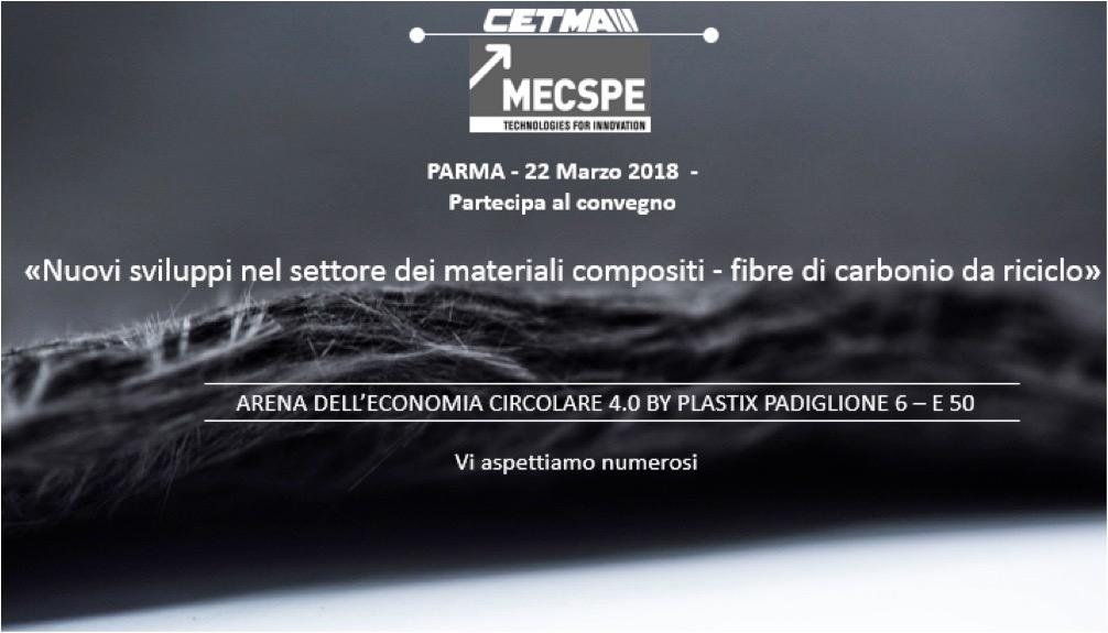 """Materiali compositi: il 22 marzo convegno CETMA al """"MECSPE Tecnologie per l'innovazione – Industria 4.0"""" di Parma"""