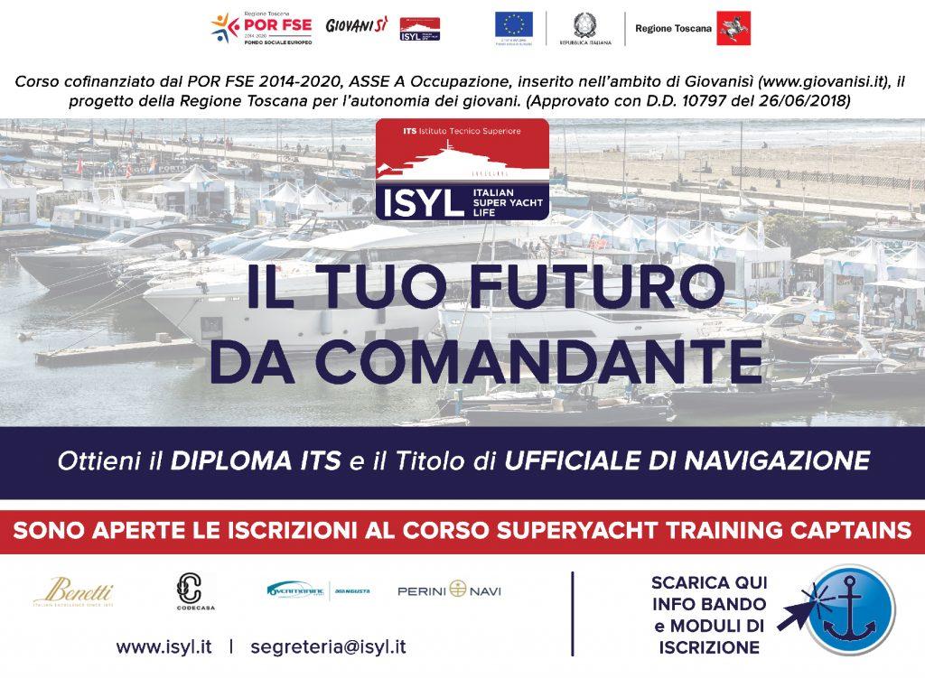 FONDAZIONE ISYL promuove la formazione di figure profesisonali del mondo dello yachting