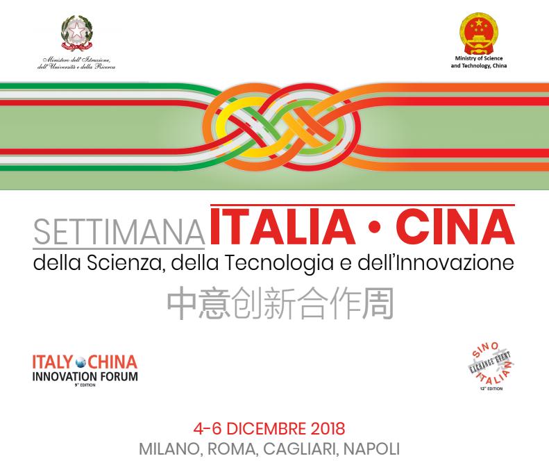 Aperte le iscrizioni per la Settimana Italia-Cina della Scienza, della Tecnologia e dell'Innovazione,