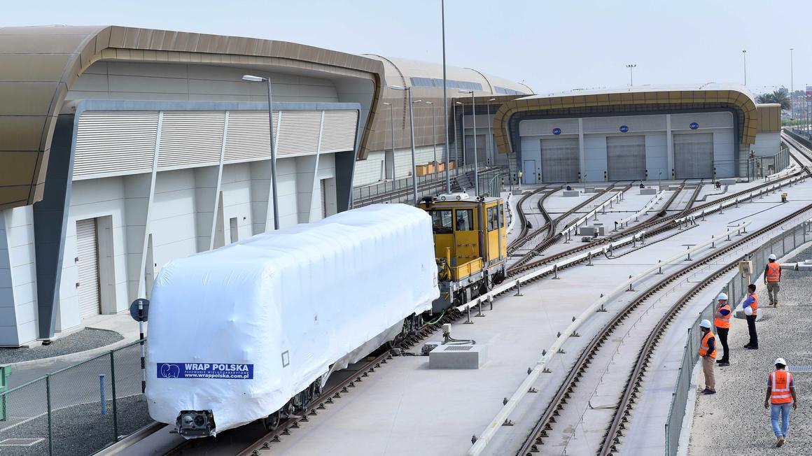 Alstom consegna i primi treni della metropolitana di Dubai