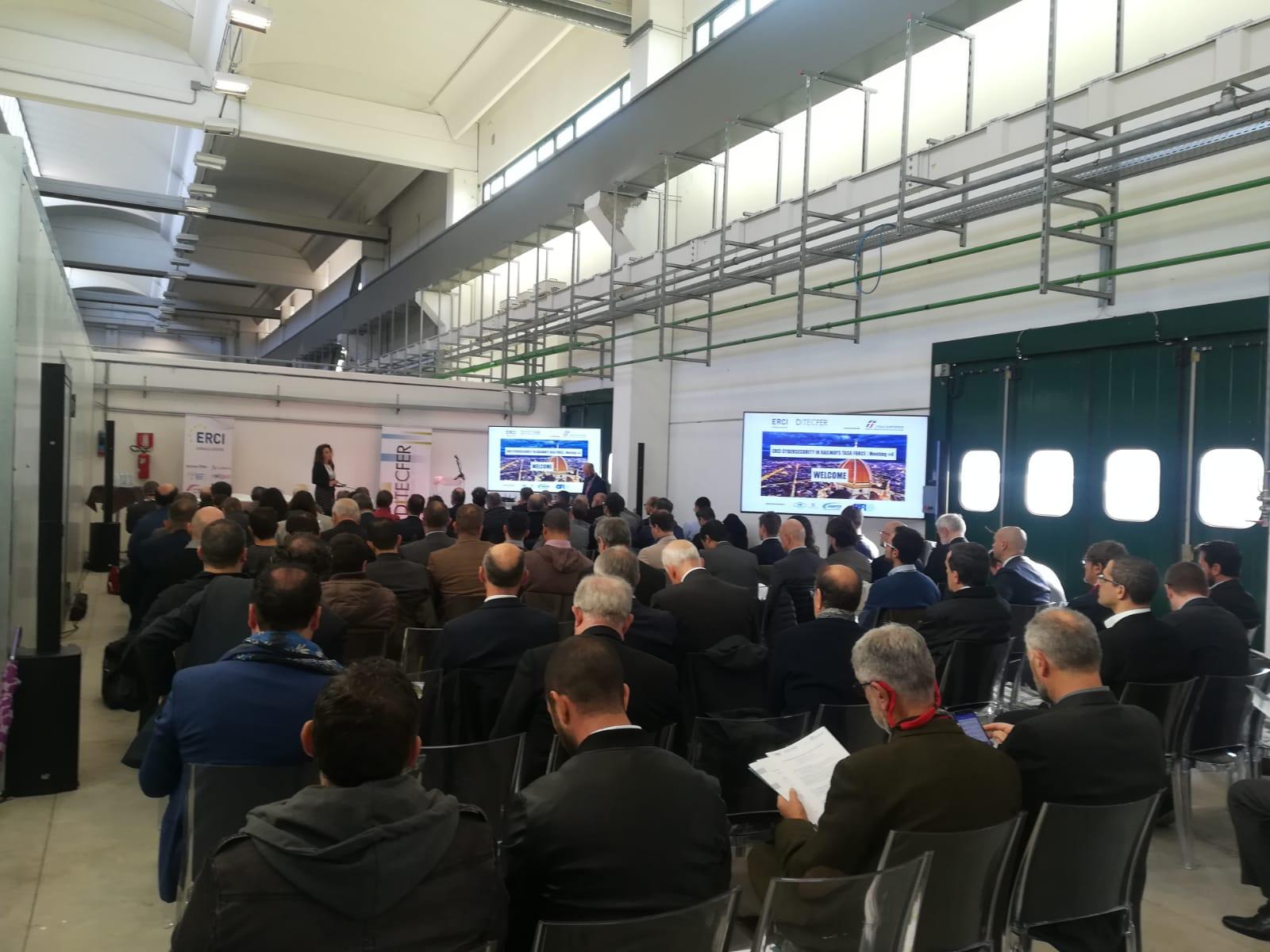 DITECFER riunisce a Firenze la Task Force europea  sulla cybersecurity nel ferroviario