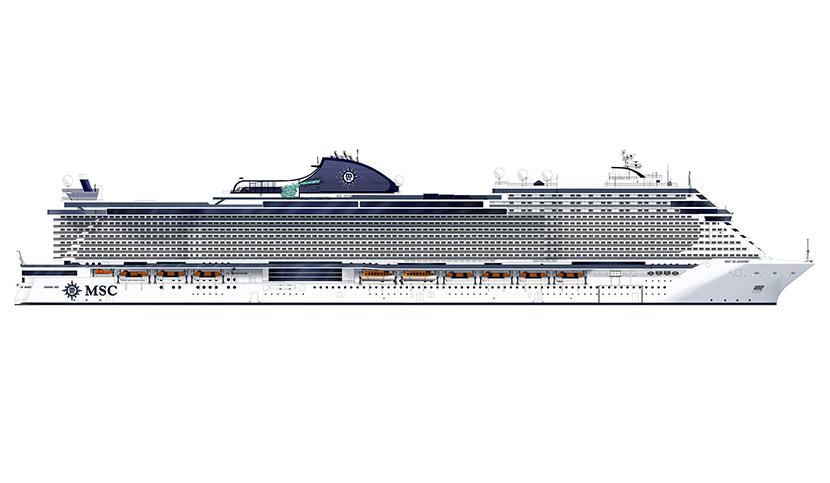 Msc crociere e Fincantieri, al via la costruzione di Msc Seashore la nave più grande mai realizzata in Italia