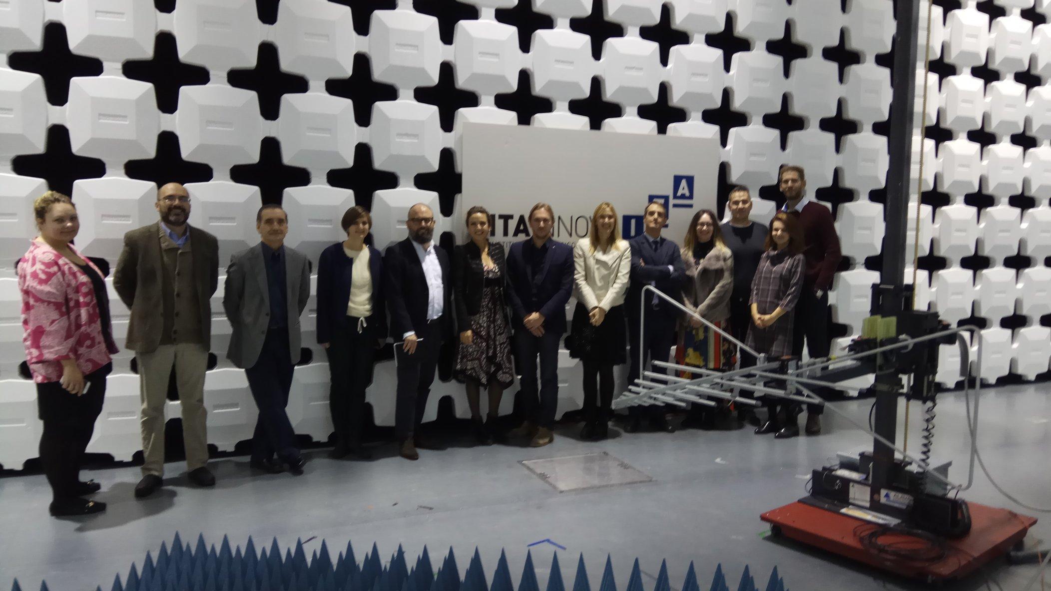 """DITECFER: prima visita di studio in Spagna del progetto UE """"RECORD"""""""