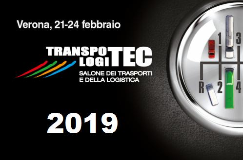 Save the date. Transpotec 2019 in programam dal 21 al 24 febbraio a Verona