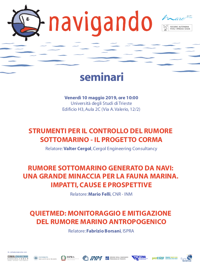 Save the date. 10 maggio la terza conferenza di Navigando