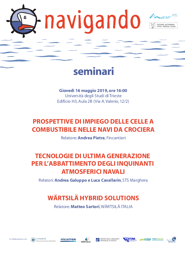 Save the date. 16 maggio quarta conferenza Navignado