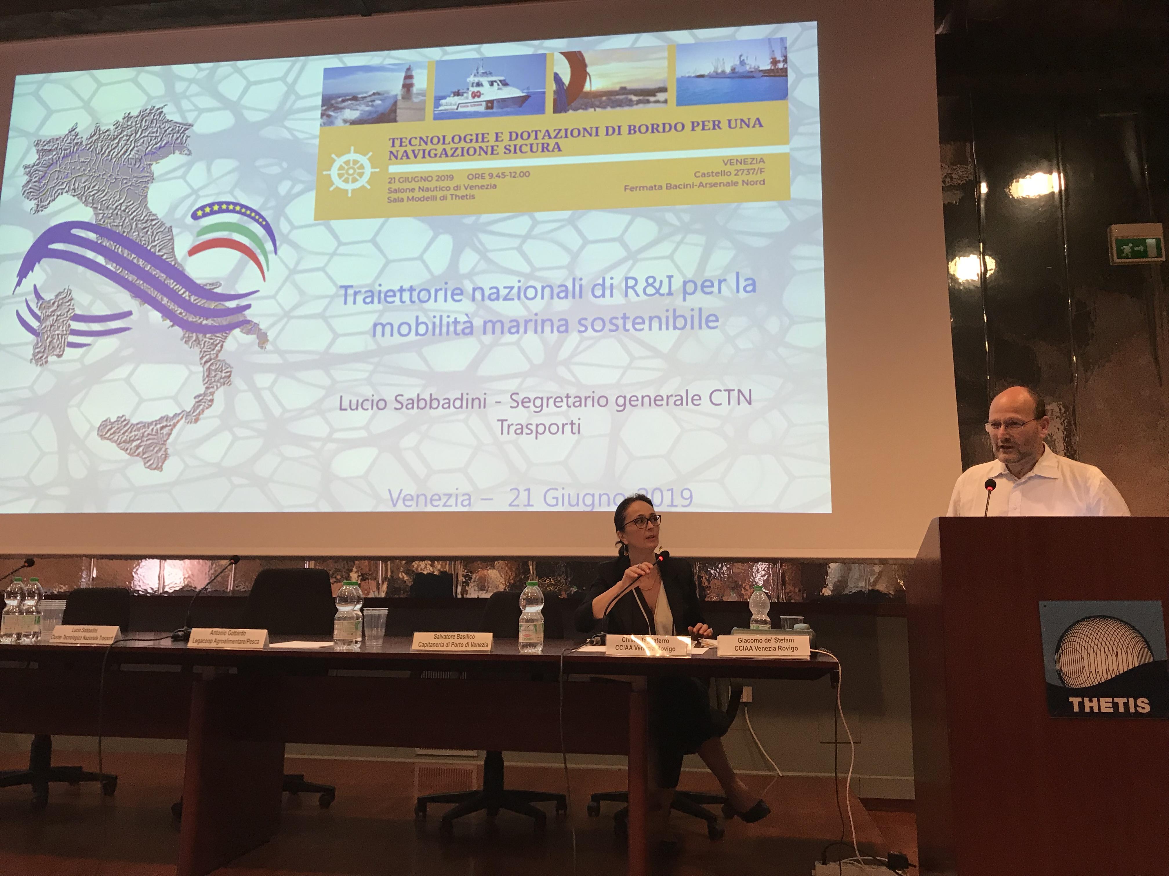Cluster al Salone Nautico di Venezia traccia la roadmap per lo sviluppo del segmento marittimo
