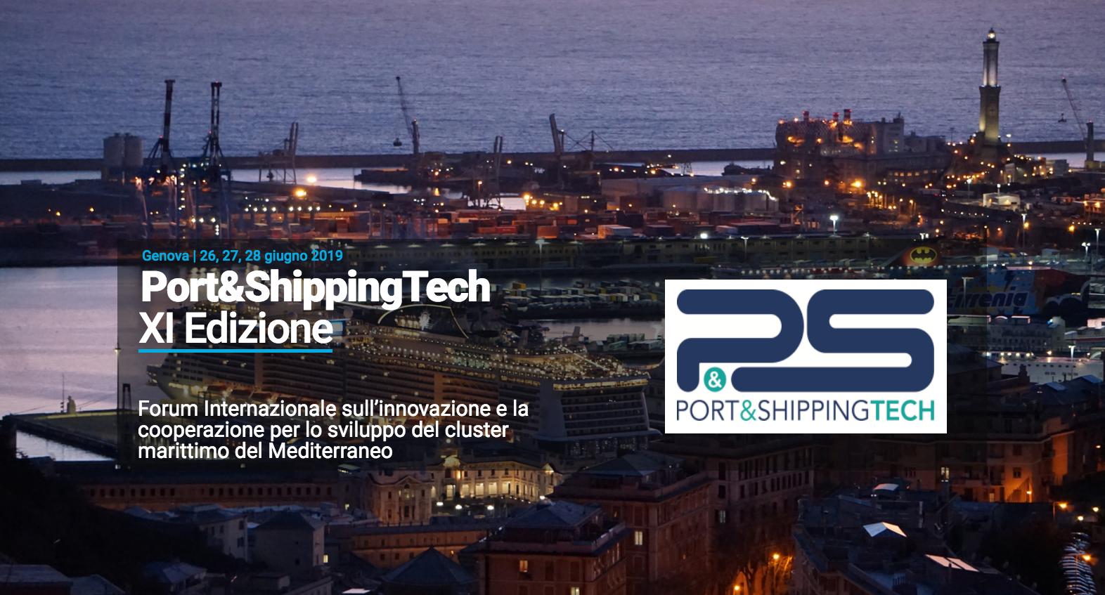 Cluster al Port&ShippingTech nell'ambito della Genoa Shipping Week