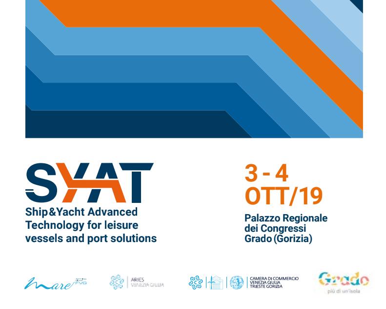 Save the date. A ottobre torna SYAT, Ship&Yacht Advanced Technology