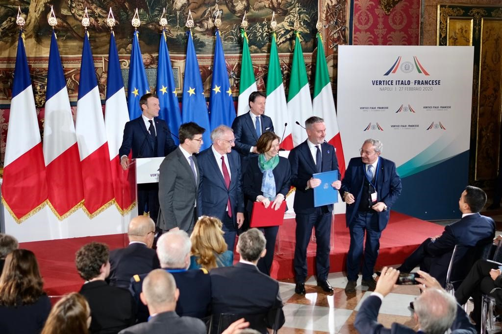 Vertice franco-italiano: pieno sostegno alla cooperazione tra le industrie navali