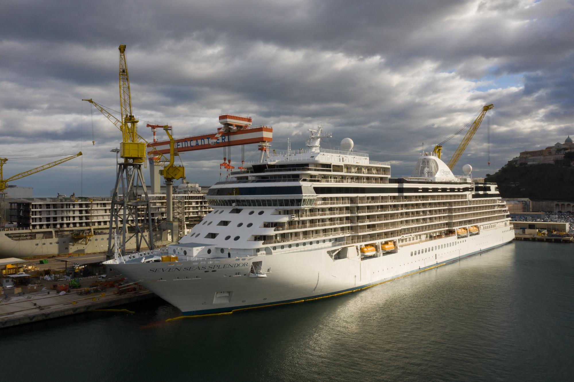 Fincantieri, consegnata a Regent Seven Seas Cruises la Seven Seas Splendor