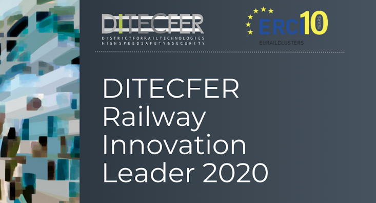 """DITECFER Railway Innovation Leaders 2020"": sul podio Lucchini RS, Rail Cargo Carrier Italy e DIPSA Technes"
