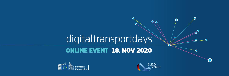 Save the date. Digital Transport Days 2020, in programma il 18 Novembre