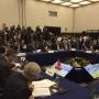 Il presidente del Cluster, Enrico Pisino, al G7 dei Trasporti