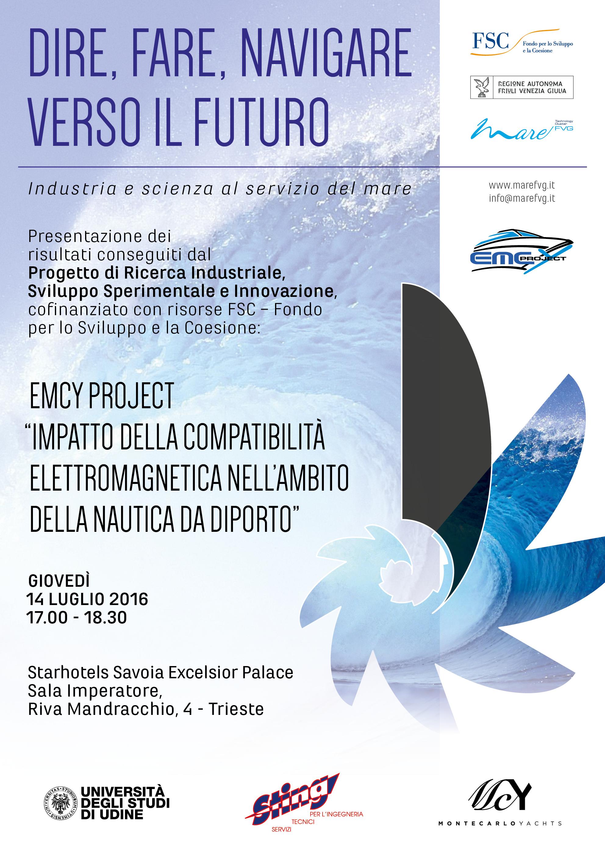 """I risultati del progetto di ricerca """"EMCY """", giovedì 14 luglio a Trieste"""