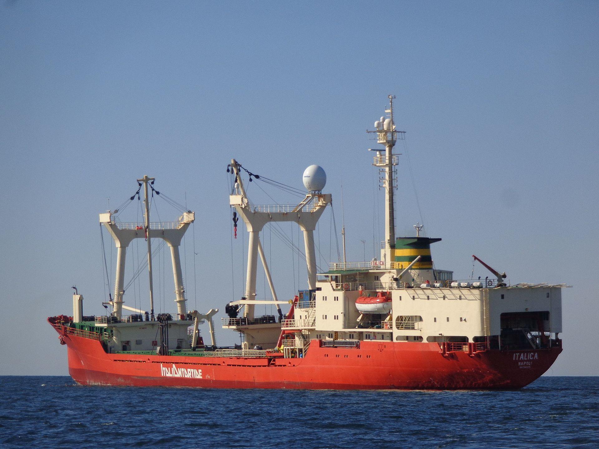 La nave Italica è in partenza per l'Antartide: studiosi proveninenti da università enti di ricerca italiani