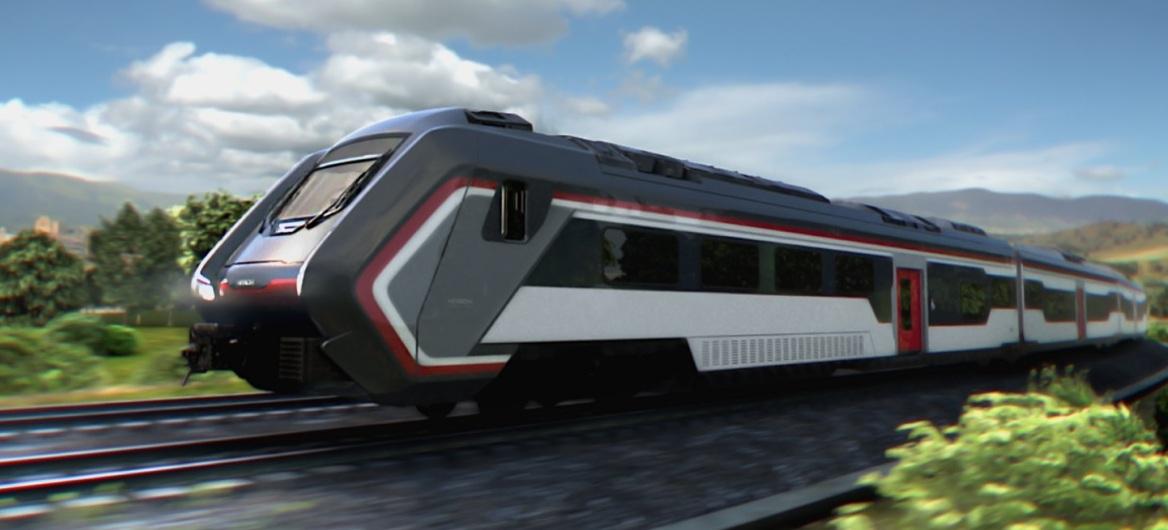 Trenitalia presenta nuovo treno regionale a doppia trazione