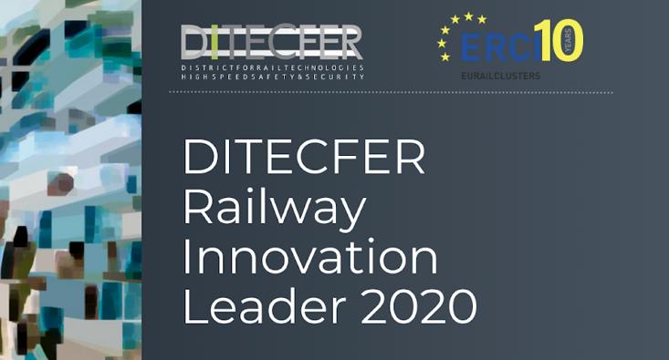 """DITECFER Railway Innovation Leaders 2020"": sul podio Lucchini RS, Rail Cargo Carrier Italy e DIPSA Technes"