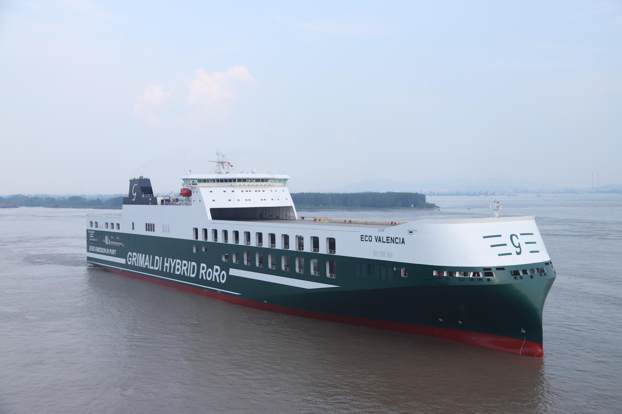 Gruppo Grimaldi, Eco Valencia e  Grande Florida ampliano la flotta