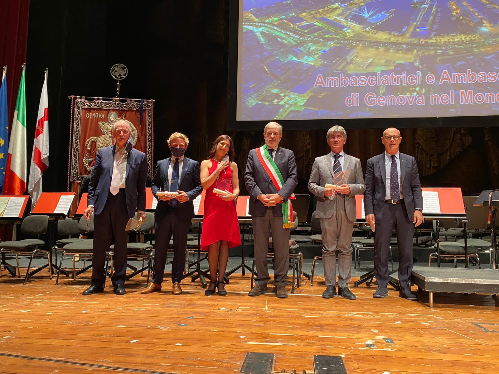 """Saverio Cecchi (Confindustria NAUTICA) nominato """"Ambasciatore di Genova nel mondo"""""""