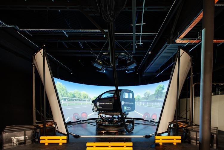 Automotive: il Politecnico di Milano presenta il simulatore di guida più avanzato del mondo