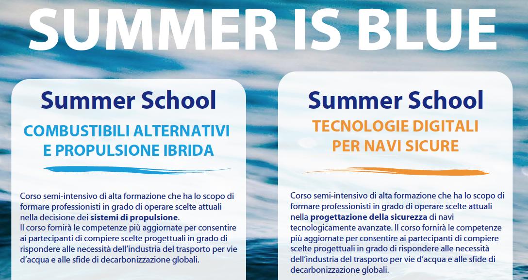 Maritime Technology Cluster FVG: aperte le iscrizioni  per le Summer School 2021