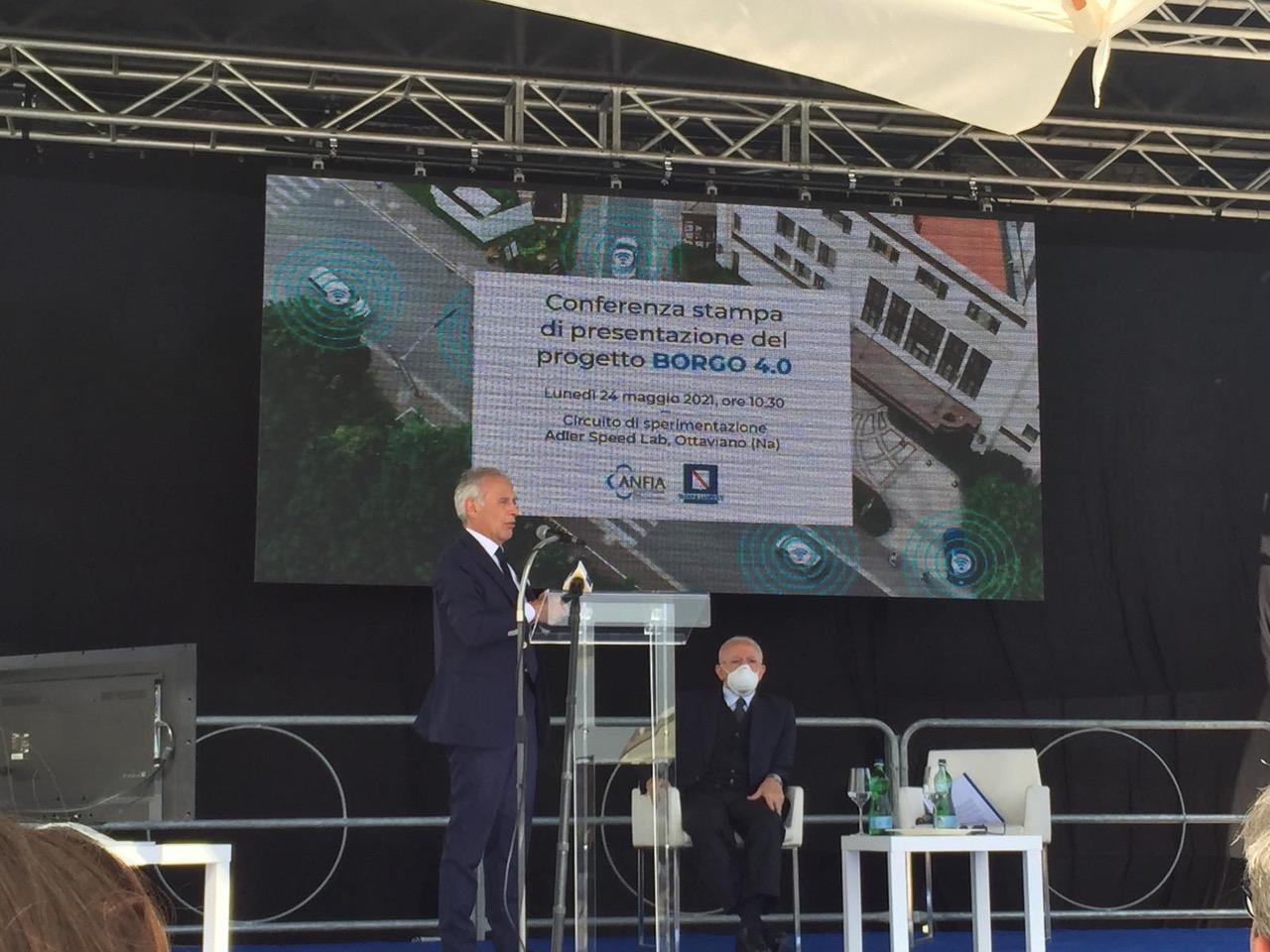 Smart Mobility: parte in Campania il progetto Borgo 4.0 per la guida autonoma e connessa
