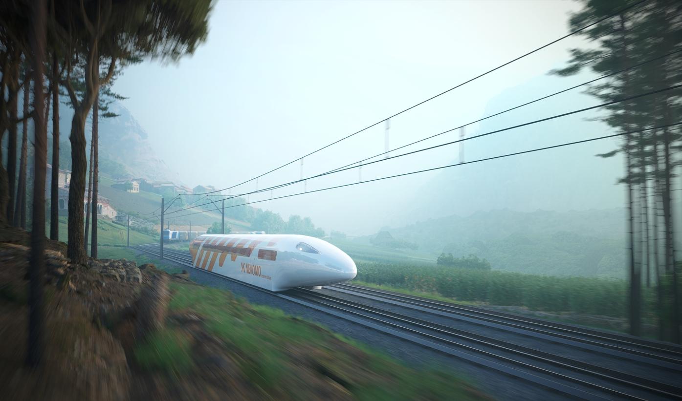 Treni a levitazione magnetica al centro del nuovo accordo Rete Ferroviaria Italiana-Nevomo