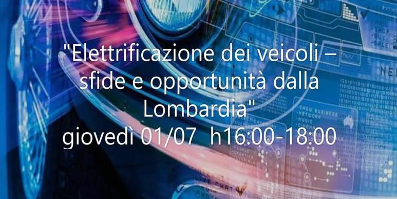 Le sfide dell'elettrificazione: appuntamento con il webinar del Cluster Lombardo della Mobilità