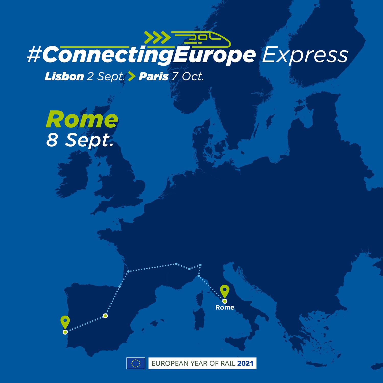 Parte il Connecting Europe Express, dal 5 settembre le tappe in Italia